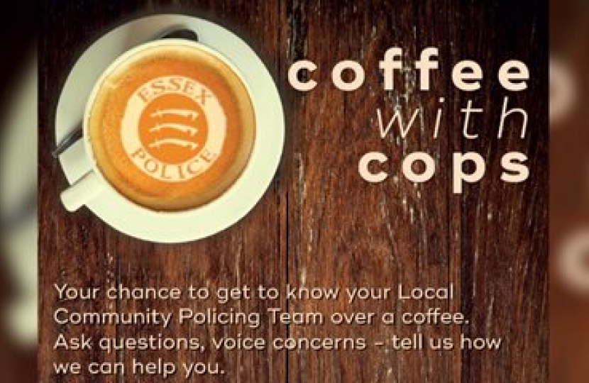 Coffee with cops poster