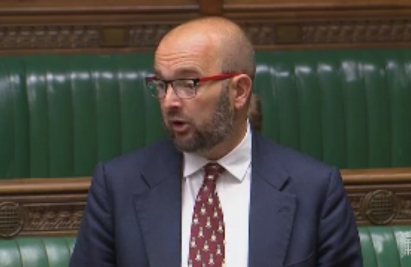 James Duddridge in Parliament
