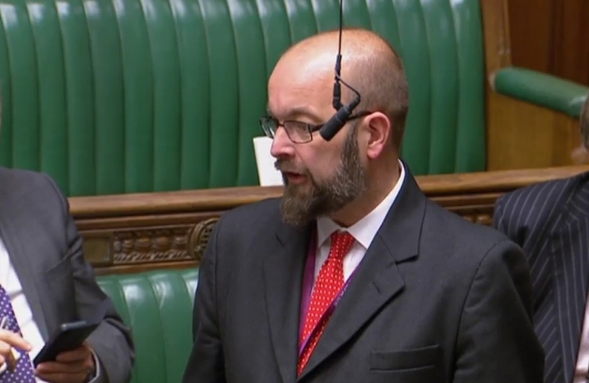 James Duddridge in the House of Commons