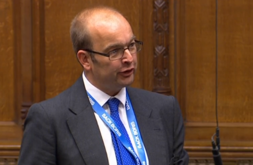 James Duddridge MP speaking in Parliament