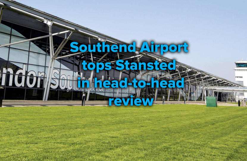 Southend Airport tops Stansted in review