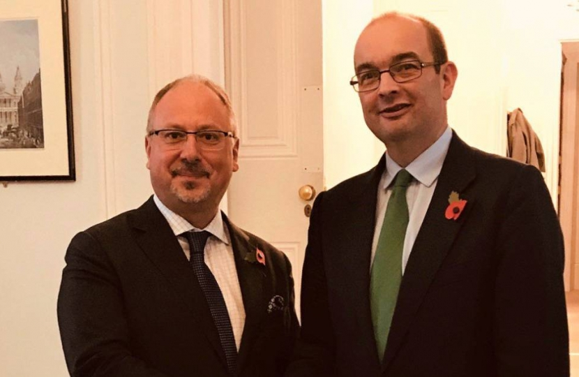 James Duddridge and Polish Ambassador