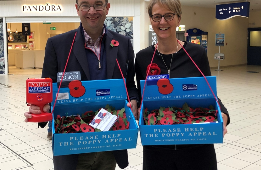 Poppy Appeal in the Royals