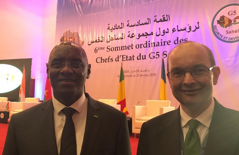 Mauritania Education minister